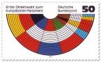 Stamp: Europäisches Parlament, Sitzverteilung