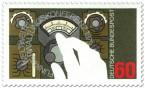 Stamp: Hand am Funkgerät (Funkverwaltung)