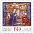 Stamp: Geburt Christi im Stall zu Bethlehem (Weihnachtsmarke 1979)