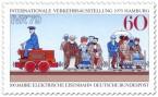 Stamp: Historische elektrische Eisenbahn