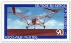 Stamp: Historischer Hubschrauber Focke-Wulf Fw 61