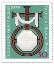 Stamp: Kreuz mit dem Symbol Karls des Großen