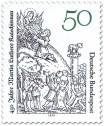 Stamp: Buchillustration von Lucas Cranach