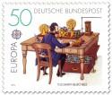 Stamp: Telegrafenbüro um 1863
