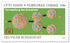 Stamp: Uran Kernspaltung (Nobelpreis Otto Hahn)
