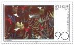 Stamp: Vogelgarten - Aquarell von Paul Klee