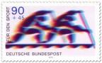 Stamp: Zweier Canadier (Rudern, Sporthilfe)