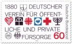 Stamp: 100 Jahre öffentliche und private Fürsorge