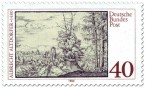 Stamp: Albrecht Altdorfer Landschaft