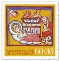 Stamp: Bethlehem Stall, Geburt Christi (Weihnachtsmarke 1980)