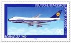 Stamp: Böing 747