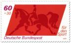 Stamp: Dresurreiten Sporthilfe