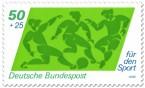 Stamp: Fussball Sporthilfe