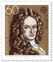 Stamp: Gottfried Wilhelm Leibniz (Philosoph)