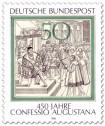 Stamp: 450 Jahre Confessio Augustana