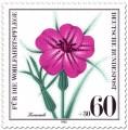 Stamp: Kornrade Blüte (Wildkraut)