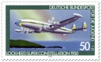 Stamp: Propellerflugzeug Lockheed Super Constellation