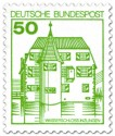 Stamp: Wasserschloss Inzlingen