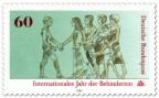 Stamp: Behinderter, Menschen (Internationales Jahr der Behinderten)
