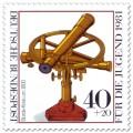 Stamp: Borda-Kreis um 1800 (historisches Fernrohr)