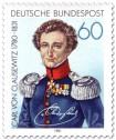 Stamp: Carl von Clausewitz (General)