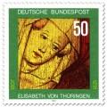 Stamp: Elisabeth von Thüringen