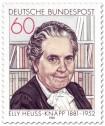 Stamp: Elly Heuss-Knapp (Sozialreformerin)
