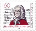Stamp: Georg Philipp Telemann (Komponist)