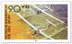 Stamp: Segelflieger (für den Sport)