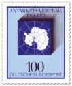 Stamp: Südpol - 20 Jahre Antarktisvertrag