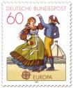 Stamp: Tracht aus Friesland (Folklore-Tanz)