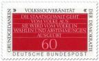 Stamp: Volkssouveränität (Grundgedanken der Demokratie)