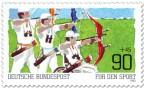 Stamp: Bogenschießen - Für den Sport