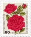 Stamp: Bourbon-Rose
