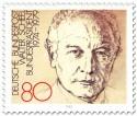 Stamp: Bundespräsident Walter Scheel (82)