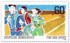 Stamp: Dauerlauf - Für den Sport
