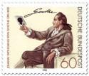 Stamp: Johann Wolfgang von Goethe (1982)