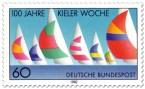 Stamp: 100 Jahre Kieler Woche