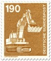 Stamp: Löffelbagger