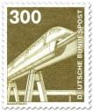 Stamp: Magnetschwebebahn (1982)