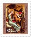 Stamp: Meister Bertram Christi Geburt (Weihnachtsmarke 1982)