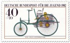 Stamp: Benz Patent - Motorwagen Nummer 1