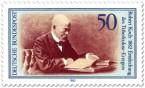 Stamp: Robert Koch, Entdecker des Tuberkulose-Erregers