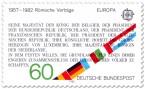Stamp: 25 Jahre Römische Verträge