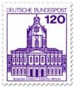 Stamp: Schloss Charlottenburg Berlin
