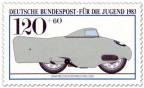 Stamp: Bmw Weltrekordmaschine 1936