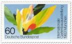 Stamp: Bunte Blumen - Gartenbau-Ausstellung München