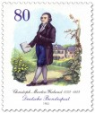 Stamp: Christoph Martin Wieland (Dichter, Schriftsteller)
