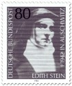 Stamp: Edith Stein (Nonne, Philosophin)