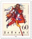 Stamp: Federahannes Kostüm zur Fastnacht